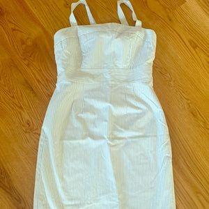 NWT J. Crew Marina Striped Dress
